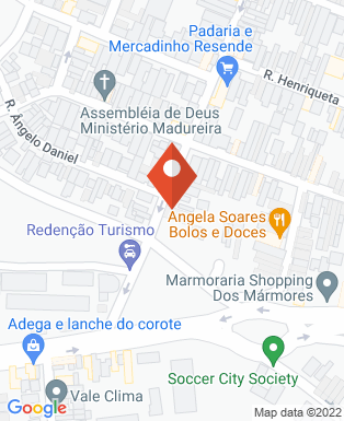 Mapa da empresa D.D.Drin Taubaté
