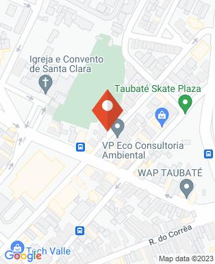 Mapa da empresa Clínica Vivaci