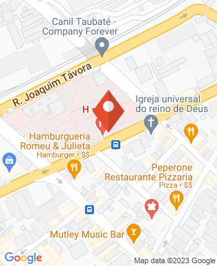 Mapa da empresa Hospital Universitário de Taubaté