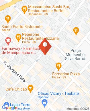 Mapa da empresa RHeal Consultores - Taubaté