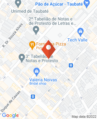 Mapa da empresa Exatus Contrução e Engenharia
