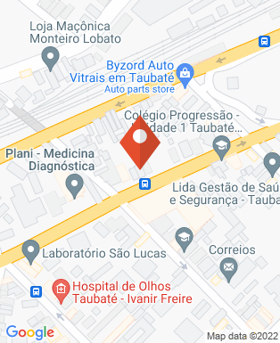 Mapa da empresa Serttel
