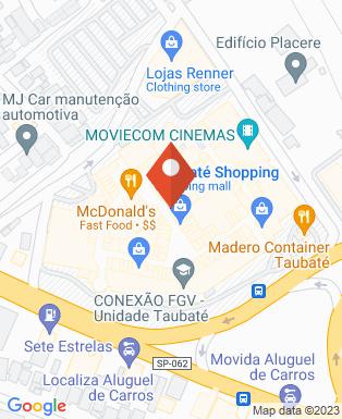 Mapa da empresa Moviecom - Taubaté Shopping