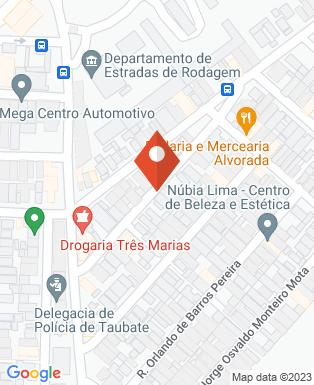 Mapa da empresa Tervale Terraplenagem