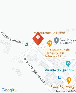 Mapa da empresa Madame Surtô Cabaré