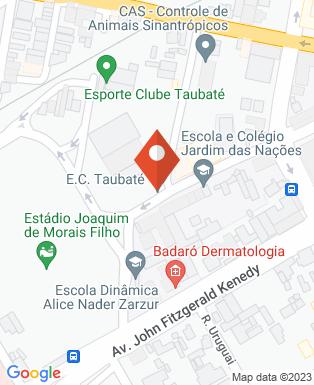 Mapa da empresa Esporte Clube Taubaté