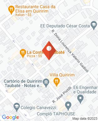 Mapa da empresa Festa de Quiririm