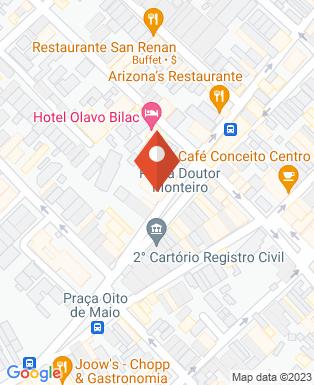 Mapa da empresa Churrascaria Gramado Taubaté