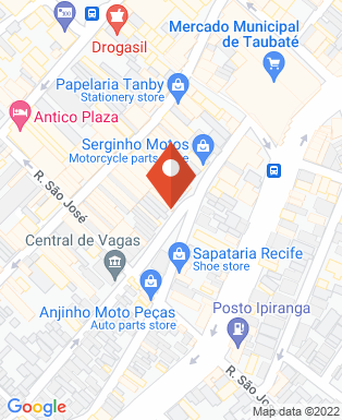 Mapa da empresa Massa Motos