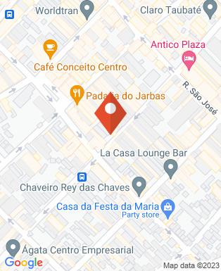 Mapa da empresa CIEE - Centro de Integração Empresa Escola de Taubaté