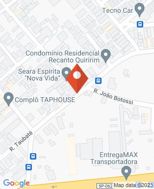 Mapa da empresa Araya do Brasil Industrial