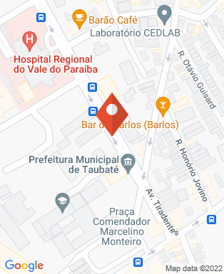 Mapa da empresa Prefeitura Municipal de Taubaté