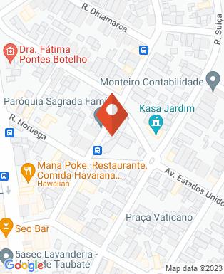 Mapa da empresa Paróquia Sagrada Família - Taubaté