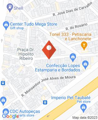 Mapa da empresa Linephalt Brasileira Sinalização Viaria