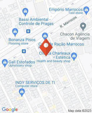 Mapa da empresa Soethe Cursino Engenharia