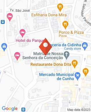 Mapa da empresa Prefeitura Municipal da Estância Climatica de Cunha