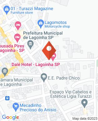 Mapa da empresa Lar Vicentino Lagoinha