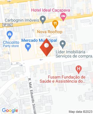 Mapa da empresa Fundação de Saúde e Assistência do Município de Caçapava