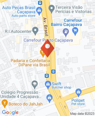 Mapa da empresa Varanda Espetinhos Caçapava
