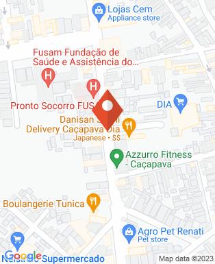 Mapa da empresa Pronto Socorro Municipal de Caçapava