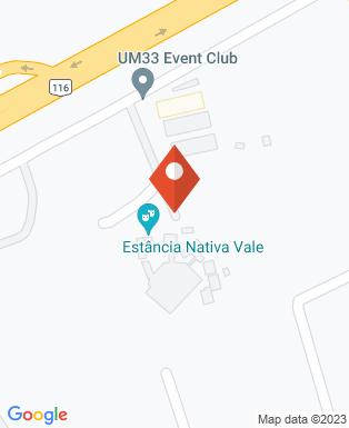 Mapa da empresa UM33 Event Club