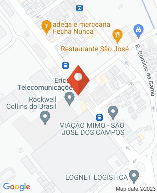 Mapa da empresa Rockwell Collins Brasil