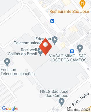 Mapa da empresa Ericsson Serviços de Telecomunicações