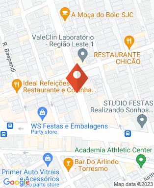 Mapa da empresa Emam Asfaltos