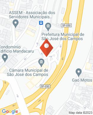 Mapa da empresa Câmara Municipal São José dos Campos