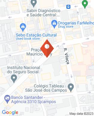 Mapa da empresa Viga Flor de Liz Construção e Incorporação