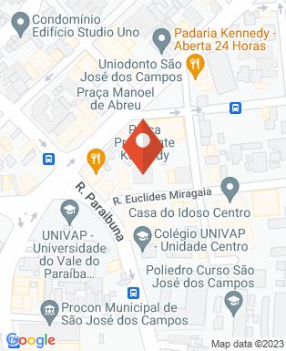 Mapa da empresa Vilage Marcas e Patentes