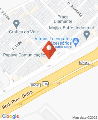 Mapa da empresa Papaya Comunicação