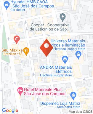 Mapa da empresa Inova Empreendimentos Imobiliários