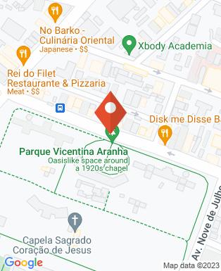 Mapa da empresa Consórcio Intermunicipal de Saúde do Alto Vale do Paraíba