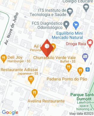 Mapa da empresa Oficina Empresarial