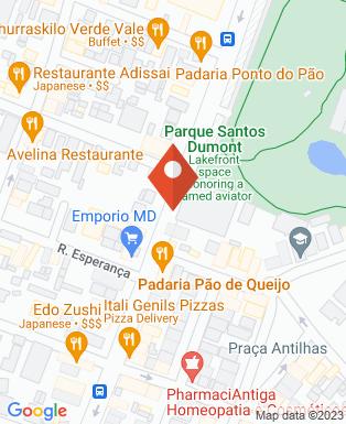 Mapa da empresa Sesc São José dos Campos