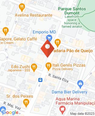 Mapa da empresa Atecmed Assistência Técnica e Comercial Medica