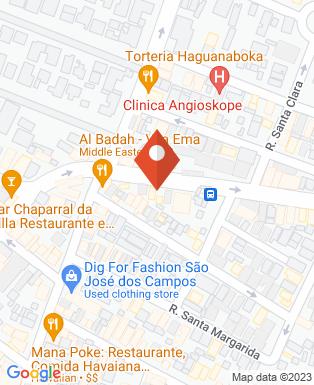Mapa da empresa Arriba Comunicação