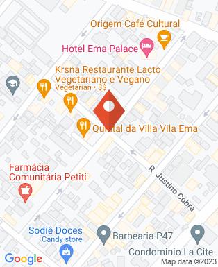 Mapa da empresa Hotel Ema Palace