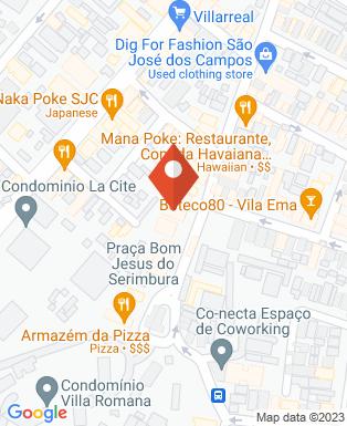 Mapa da empresa ABG Comunicação