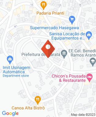 Mapa da empresa Câmara Municipal de Igaratá
