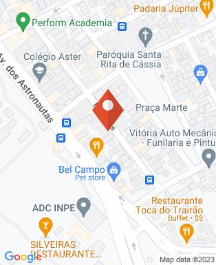 Mapa da empresa V S Serviços de Topografia e Projeto