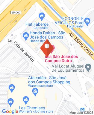 Mapa da empresa Hotel ibis Dutra