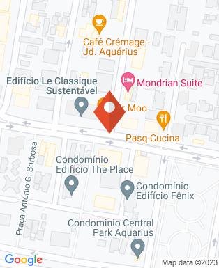 Mapa da empresa Central Business