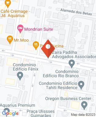 Mapa da empresa Construtora Bento Augusto