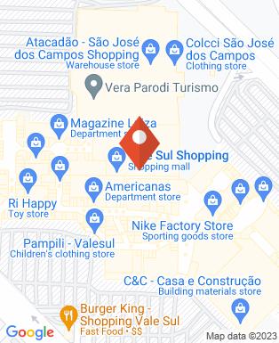 Mapa da empresa Vale Sul Shopping