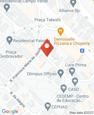 Mapa da empresa Costa Vituzzo Construtora Incorporadora