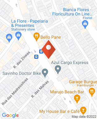 Mapa da empresa Empório Peixes & Cia