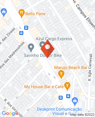 Mapa da empresa Momento Marketing e Comunicação