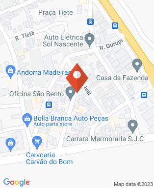 Mapa da empresa Esdras Construtora e Incorporadora